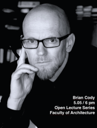 Open Lecture Series: Brian Cody, 5.05 at 6 pm