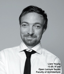 Open Lecture Series: Liam Young, 12.05 at 6 pm