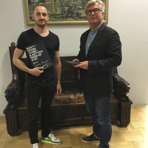 Sander Haugas ja rektor