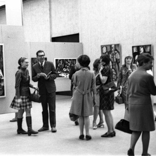 Vilniuse maalitriennaali avamine, 1969.