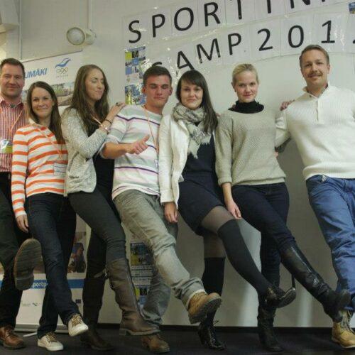 Sport Inno Camp Footbalance OY töögrupp, kus osales Kadi Paasik.