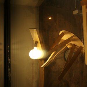 """Tootedisaini aknanäitus """"Lambid toolid"""". 2021. aasta."""