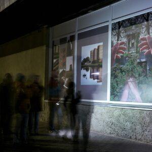 """Näituse """"Lõuna"""" avamine Võrus 13.11.2020. Foto: Ivor Lõõbas"""