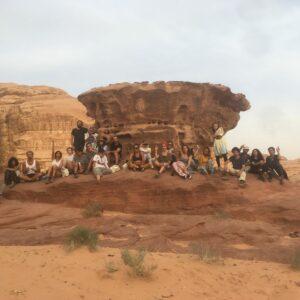 Abake_Audience in Wadi Rum