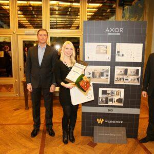 Axor-Wermstock disainikonkursi I koht Kätlin Pesur