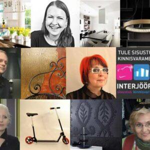 """Eesti Kunstiakadeemia tootedisaini, sisearhitektuuri ja mööblidisaini osakonna tudengid esitlevad disainilavastusi messil """"Interjöör 2014""""."""