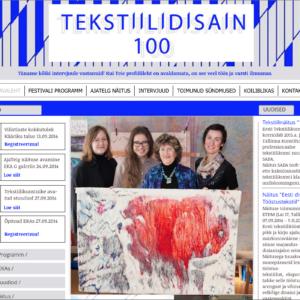 Palju õnne, 100 aastat tekstiiliharidust Eestis!