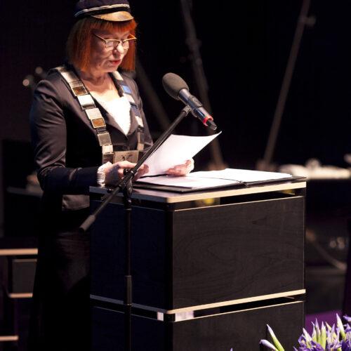 Rector Signe Kivi Photo: Kristina Õllek