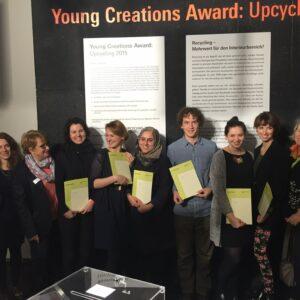 EKA tekstiilitudeng Kairi Katmann sai esimese preemia Frankfurti messil Heimtextil 'Young Creations Award:upcycling'