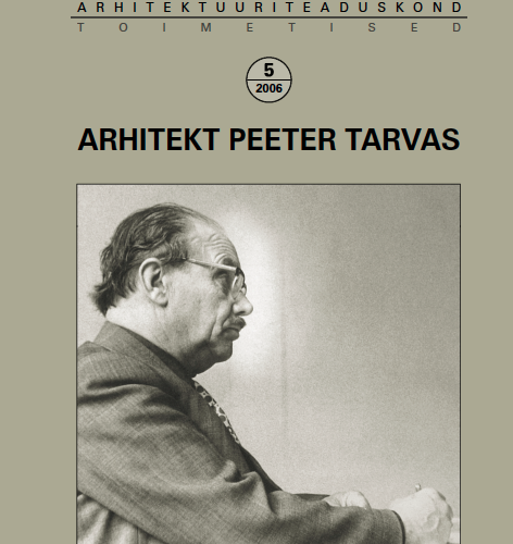 Arhitekt Peeter Tarvas
