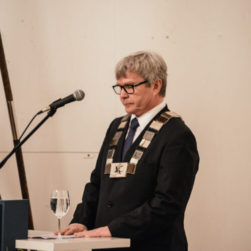 Rector Mart Kalm, Photo by Tõnu Tunnel
