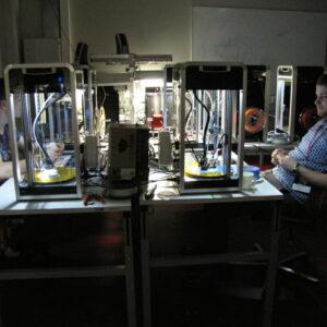 Massportali 3D printerid töös