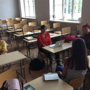 Uute tudengite kohtumine vilistlasega - Maarja Kell ja Reaalkool. 2015