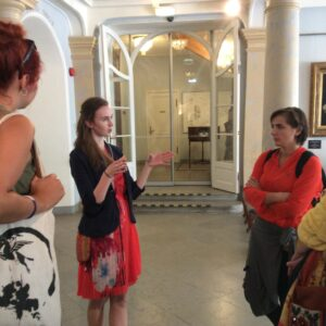 Uute tudengite kohtumine vilistlasega - Minni Hein ja Kadrioru muuseum. 2015.