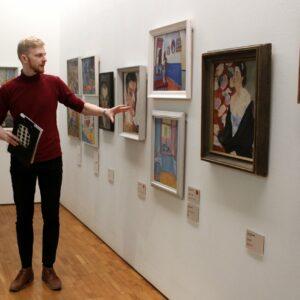 Ivo Visak muuseumipraktikal