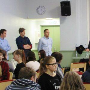 Arhitektuuri töötuba Pärnu Ühisgümnaasiumis