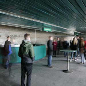 Ekskursioon Linnahallis (Foto Martin Siplane)
