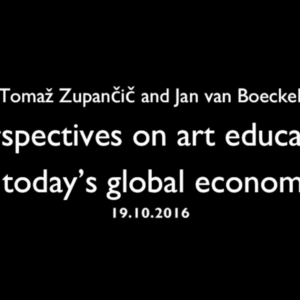 Title: Perspectives on art education in todays global economy.