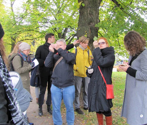 dendrology tour (Photo Anu Piirisild)