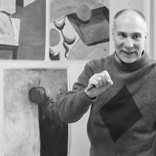EKA KK, Aimar Kristerson, maal ja kompositsiooniõpe