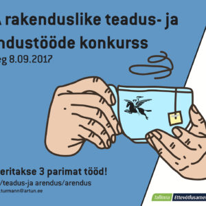Rakenduslike tööde konkursi posterA3(tass)