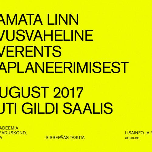 Konverents Lõpetamata linn 30. augustil Tallinnas!