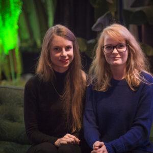 Mae Köömnemägi ja Kaisa-Piia Pedajas.FOTO Johan Henrik Pajupuu