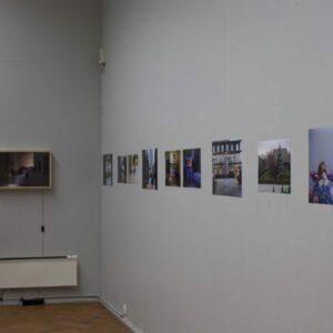 Alissa Nirgi. Oodates vanaema. Documentation from exhibition '1/2' 2015. Photo by Janis Kokk