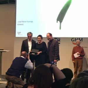 Herbert Hofmann Prize võitja Julia Maria Künnap!