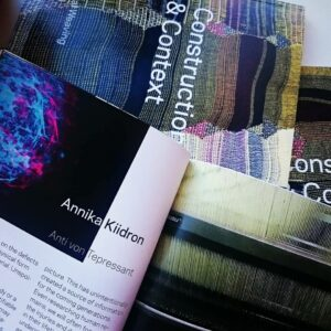 Annika Kiidroni tööd raamatukaante vahel