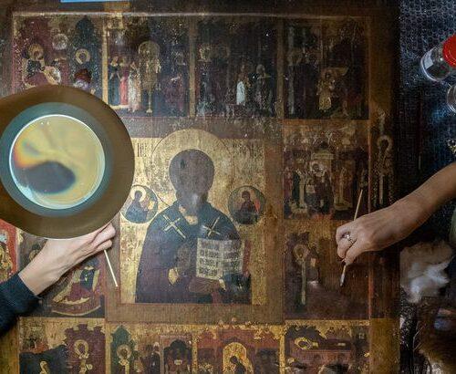 Piirisaare ikoonide päästmine
