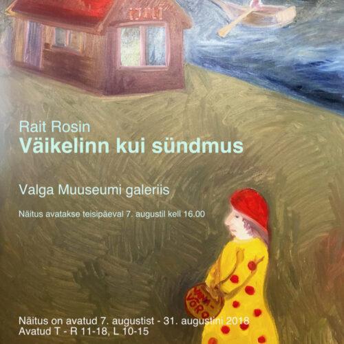 plakat Rosin Valga Muuseumis 2018-v (2)