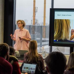 Tootedisaini osakonna juhataja Maarja Mõtuse ettekanne 2018. aasta novembris EKAs toimund seminaril Teenusedisain tervishoiusektoris