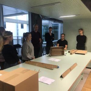 Disainistuudio Form Us With Love töötuba Prototypa 2018. aasta oktoobris