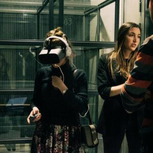 Bakalaureuse kolmanda kursuse VR töötuba jaanuaris 2019.
