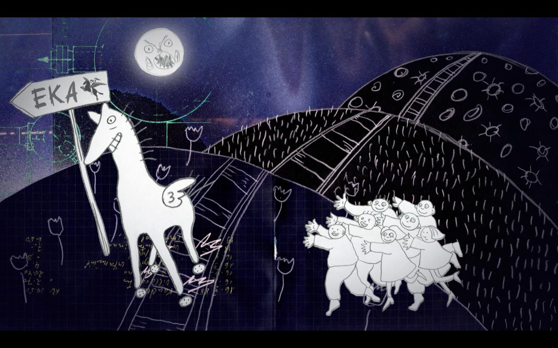 Illustratsioon: Ave                                            Taavet, EKA animatsiooni                                            eriala vilistlane