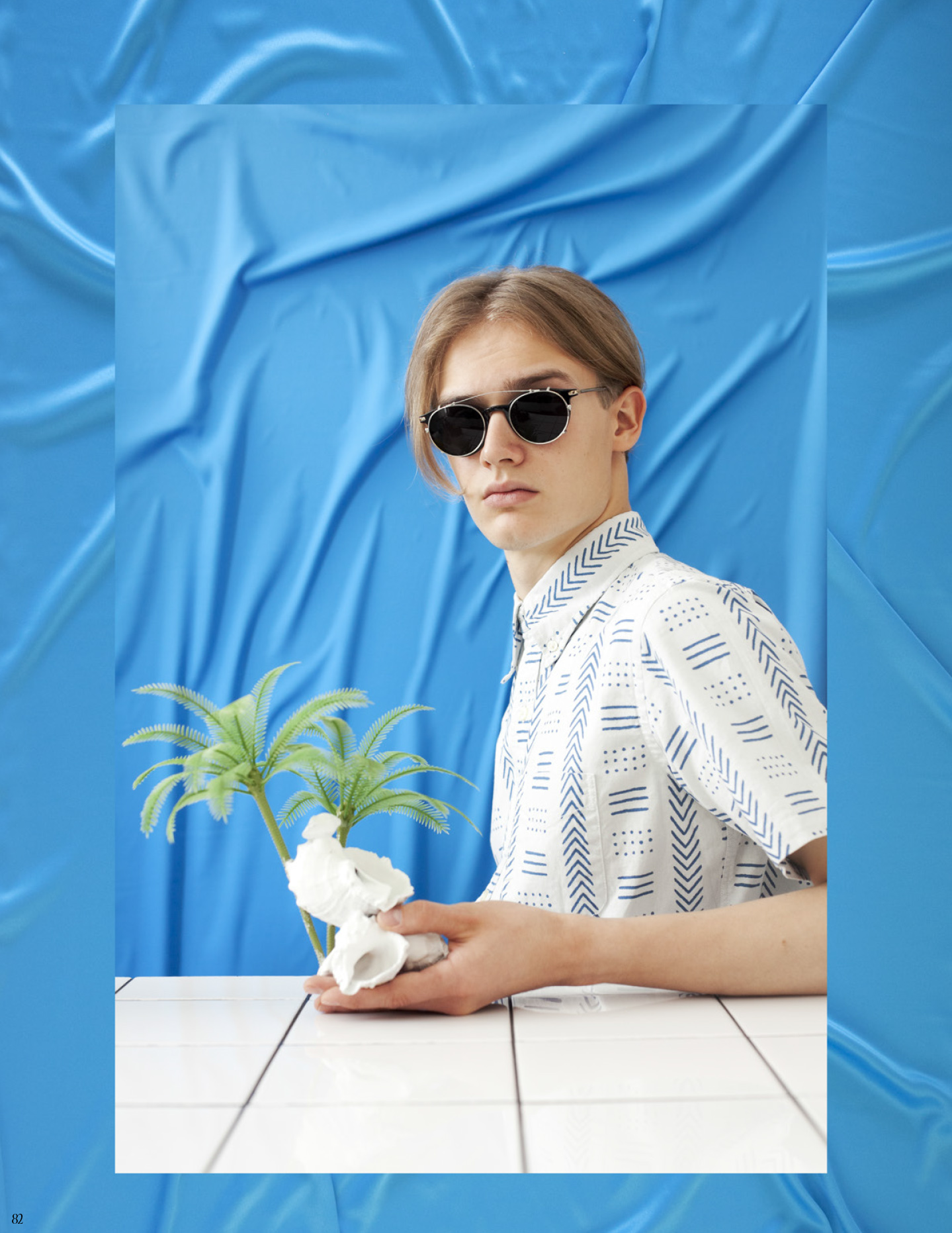 Photo from the portfolio of Lisann Lillevere (EAA Open Academy Fashion Stylistics 2016), stylistics/AD Lisann Lillevere, window display Lisann Lillevere/Kristina Õllek, photographer Kristina Õllek, supervisor Inessa Josing.